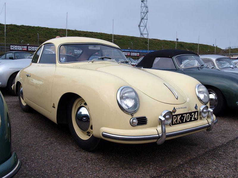 первый автомобиль porsche 1949 года