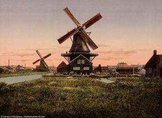 Ветряные мельницы - синоним Голландии