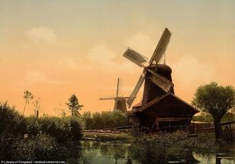 Ветряные мельницы в Дордрехте