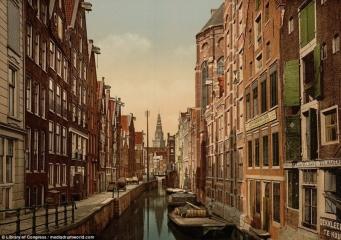 Канал Колк в Амстердама.