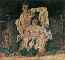 На картине «Семья» умирающий художник Эгон Шиле изобразил трёх жертв испанки: себя, свою беременную жену и её нерождённого ребёнка