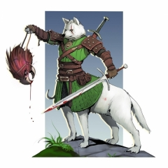White Wolf. Gefalt of Fifia.