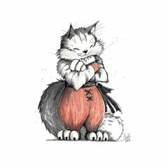 Monk Norwegian Forest Cat
