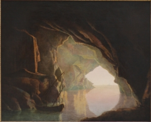 A Grotto in the Gulf of Salerno, Sunset.