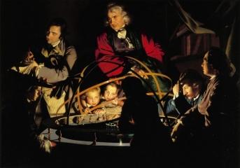 Философ, объясняющий модель Солнечной системы. ок. 1766 Холст, масло. 147 × 203 см