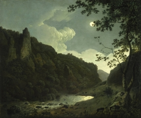 Dovedale by Moonlight 62.5 × 77.8 см