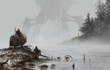 1920 - lost in the fog. New painting from my 1920+ series and Scythe, hope you like it guys, cheers!