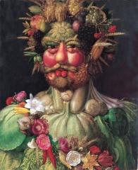 Портрет императора Рудольфа II в образе Вертумна