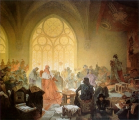 Славянский эпос. Гуситский король Иржи Подебрадский-1925