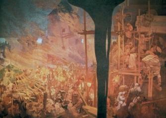 Славянский эпос. Оборона Цигета-1914