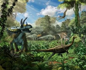 Coahuila Dinosaurs Diorama