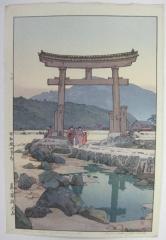 Benten Shrine in Nezumigaseki