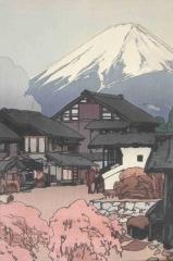 Fuji von Funatsu aus (1928)