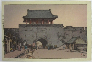 Dainan Gate in Mukden