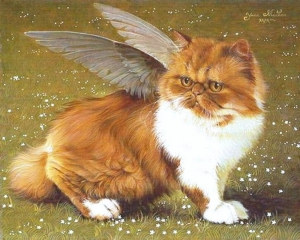 Cat with Wings