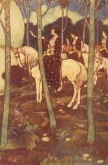 Maidens on White Horses