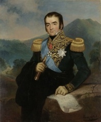 Portrait of Herman Willem Daendels (1838)
