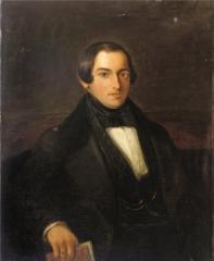Portrait of Ary Prins (1816-1867) 1838