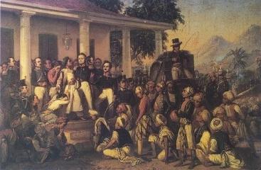 The Arrest of Pangeran Diponegoro, 1857, Merdeka Palace Museum, Jakarta.