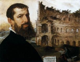 Self-portrait in Rome, 1553
