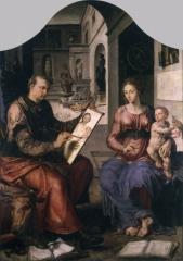 St Luke Painting the Virgin 1550-53