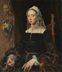 Portrait of Machtelt Suijs, c.1540-1545