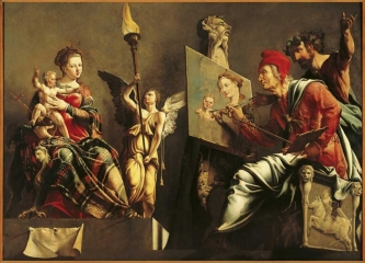 St. Luke painting the Virgin and Child