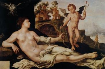 Venus and Cupid, 1545