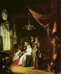 Больная водянкой, 1663, Лувр