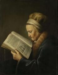 Старая женщина за книгой (мать Рембрандта), Амстердам