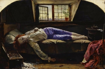 Смерть Чаттертона, 1856