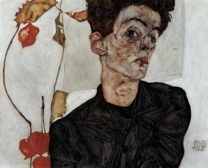 Автопортрет. 1912.