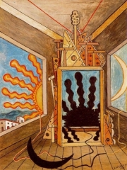 Metaphysical Interior with Sun which Dies (1971)
