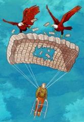 An unreliable parachute