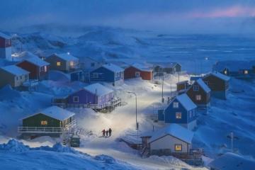 Лауреат Гран-при: 'Greenlandic Winter', автор: Weimin Chu