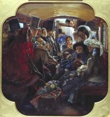 Omnibus Life in London, 1859