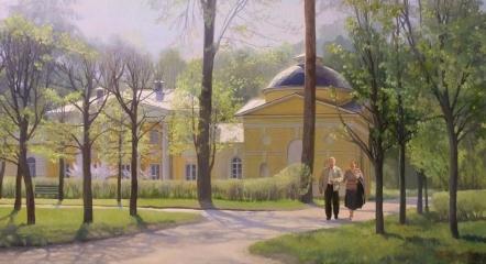 Прогулка в Архангельском