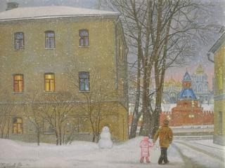 Зима. Софийская набережная