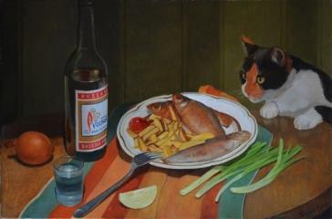 Ужин рыбака